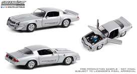 Chevrolet  - Z28 Yenko Turbo Z 1981 turbo silver - 1:18 - GreenLight - 13594 - gl13594 | The Diecast Company