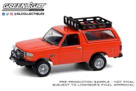 Ford  - Bronco Sport 1995 orange - 1:64 - GreenLight - 35190D - gl35190D | The Diecast Company