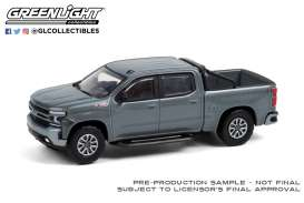 Chevrolet  - Silverado RST 2020 satin steel metallic - 1:64 - GreenLight - 35190F - gl35190F | The Diecast Company