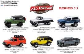Assortment/ Mix  - All Terrain Series 11 various - 1:64 - GreenLight - 35190 - gl35190 | The Diecast Company