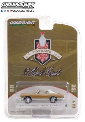 Chevrolet  - Monte Carlo 1970 sand - 1:64 - GreenLight - 28060B - gl28060B | The Diecast Company