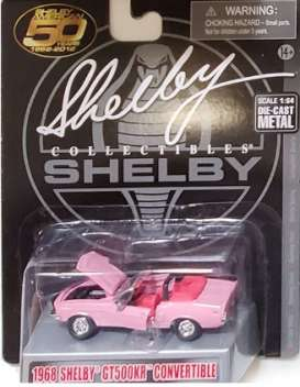 Shelby  - GT500KR 1968 pink - 1:64 - Shelby Collectibles - shelbyGT500KR | The Diecast Company