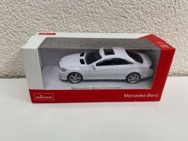 Mercedes Benz  - CL63 AMG white - 1:43 - Rastar - 34300 - rastar34300w | The Diecast Company