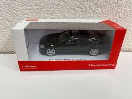 Mercedes Benz  - CL63 AMG black - 1:43 - Rastar - 34300 - rastar34300bk | The Diecast Company