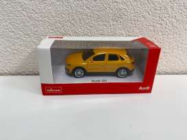 Audi  - Q3 2018 orange - 1:43 - Rastar - 58300 - rastar58300o | The Diecast Company
