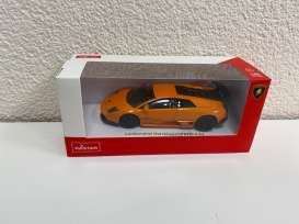 Lamborghini  - Murcielago LP670-4 SV orange/black - 1:43 - Rastar - 39500 - rastar39500o | The Diecast Company