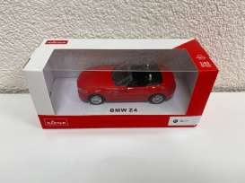 BMW  - Z4 2018 red - 1:43 - Rastar - 41400 - rastar41400r | The Diecast Company