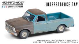 Chevrolet  - C-10 1971 blue - 1:24 - GreenLight - 84132 - gl84132 | The Diecast Company