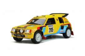 Peugeot  - 205 Grand Raid 1987 yellow/black/blue - 1:18 - OttOmobile Miniatures - OT354 - otto354 | The Diecast Company