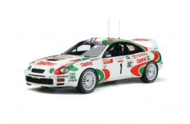 Toyota  - Celica 1995 white/red - 1:18 - OttOmobile Miniatures - ot302 - otto302 | The Diecast Company