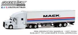 Mack  - Anthem 2018 white - 1:64 - GreenLight - 30266 - gl30266 | The Diecast Company