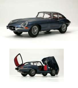 Jaguar  - E Type  dark blue - 1:18 - Kyosho - 08954BL - kyo8954BLb | The Diecast Company