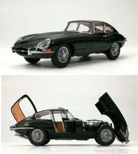 Jaguar  - E Type  british racing green - 1:18 - Kyosho - 08954G - kyo8954Ggn | The Diecast Company