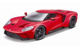 Ford  - 2017 red - 1:18 - Maisto - 31384RR - mai31384RR | The Diecast Company