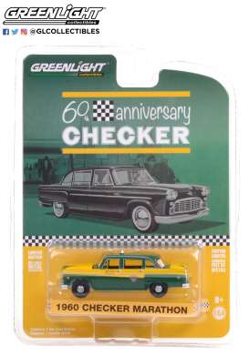 Checker  - Marathon 1960  - 1:64 - GreenLight - 28060C - gl28060C | The Diecast Company