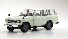 Toyota  - Land Cruiser  white - 1:18 - Kyosho - 08956W - kyo8956W | The Diecast Company