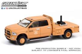 Ram  - 3500 Dually 2018 orange - 1:64 - GreenLight - 30271 - gl30271 | The Diecast Company