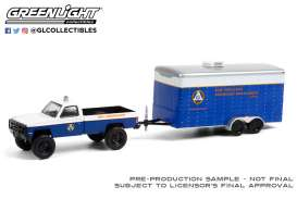 Chevrolet  - M1008 1987 blue/white - 1:64 - GreenLight - 32220C - gl32220C | The Diecast Company