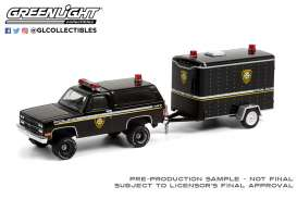 Chevrolet  - K5 Blazer 1990 black - 1:64 - GreenLight - 32220D - gl32220D | The Diecast Company