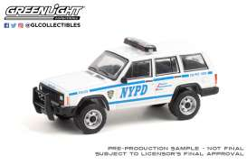 Jeep  - Cherokee 1993 white - 1:64 - GreenLight - 42960C - gl42960C | The Diecast Company