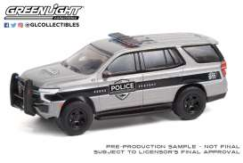 Chevrolet  - Tahoe 2021 grey/black - 1:64 - GreenLight - 42960F - gl42960F | The Diecast Company