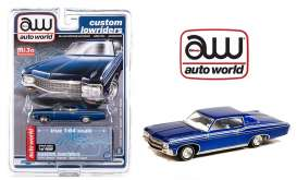 Chevrolet  - Impala SS hard top 1970 blue - 1:64 - Auto World - CP7666 - AWCP7666 | The Diecast Company