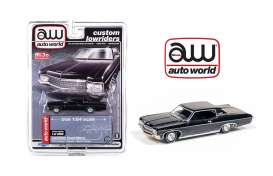 Chevrolet  - Impala SS hard top 1970 black - 1:64 - Auto World - CP7667 - AWCP7667 | The Diecast Company