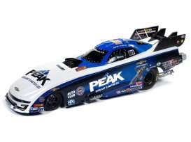 Dragster  - 2019 white/blue - 1:24 - Auto World - CP7570 - AWCP7570 | The Diecast Company