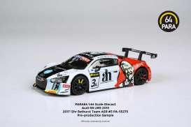 Audi  - R8LMS  #3A 2016 white/red/black - 1:64 - Para64 - 55275 - pa55275L | The Diecast Company