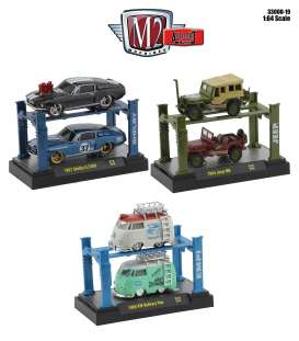 Assortment/ Mix  - various - 1:64 - M2 Machines - 33000-19 - m2-33000-19 | The Diecast Company