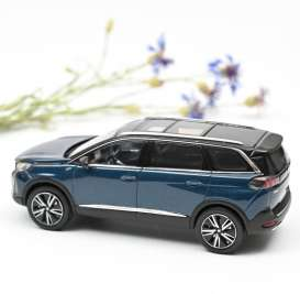 Peugeot  - 5008 GT 2020 blue - 1:43 - Norev - 473925 - nor473925 | The Diecast Company