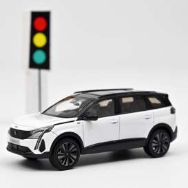 Peugeot  - 5008 GT 2020 white - 1:43 - Norev - 473926 - nor473926 | The Diecast Company