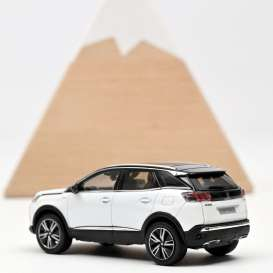 Peugeot  - 3008 GT 2020 white - 1:43 - Norev - 473920 - nor473920 | The Diecast Company
