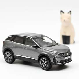 Peugeot  - 3008 GT 2020 grey - 1:43 - Norev - 473921 - nor473921 | The Diecast Company