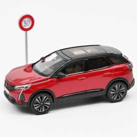 Peugeot  - 3008 GT 2020 red - 1:43 - Norev - 473922 - nor473922 | The Diecast Company