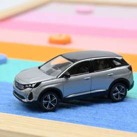 Peugeot  - 3008 2020 grey - 1:64 - Norev - 310916 - nor310916 | The Diecast Company