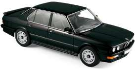 BMW  - M535i 1986 black - 1:18 - Norev - 183263 - nor183263 | The Diecast Company