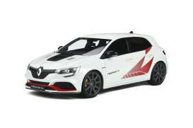 Renault  - Megane R Pack Carbon 2003 white/red - 1:18 - OttOmobile Miniatures - 877 - otto877 | The Diecast Company