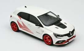Renault  - Megane RS 2019 white/red - 1:18 - Norev - 185239 - nor185239 | The Diecast Company