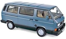 Volkswagen  - Multivan 1990 light blue - 1:18 - Norev - nor188544 - nor188544 | The Diecast Company