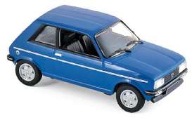 Peugeot  - 104 ZS 1979 blue - 1:43 - Norev - 471404 - nor471404 | The Diecast Company