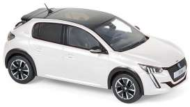 Peugeot  - 2019 pearl white - 1:43 - Norev - 472833 - nor472833 | The Diecast Company