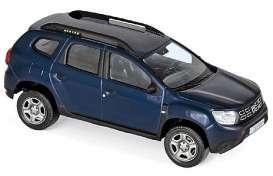 Dacia  - Duster 2018 navy blue - 1:43 - Norev - 509007 - nor509007 | The Diecast Company