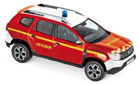 Dacia  - Duster 2018 red - 1:43 - Norev - 509012 - nor509012 | The Diecast Company
