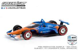Honda  - 2020 blue/orange - 1:64 - GreenLight - 10889 - gl10889 | The Diecast Company