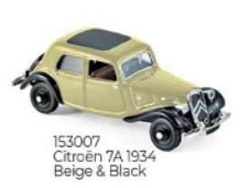Citroen  - 1934 beige/black - 1:87 - Norev - 153007 - nor153007 | The Diecast Company