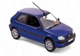 Citroen  - saxo 2000 blue - 1:43 - Norev - 155158 - nor155158 | The Diecast Company