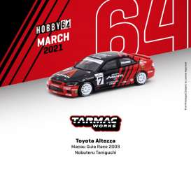 Toyota  - Altezza  2003 red/black - 1:64 - Tarmac - T64-019-03MGP07 - TC-T64-01903MGP07 | The Diecast Company