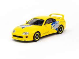 Toyota  - Supra 2018 yellow - 1:64 - Tarmac - T64-011-GDY - TC-T64-011GDY | The Diecast Company