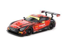 Mercedes Benz  - AMG GT3 2018 red/black - 1:64 - Tarmac - T64-016-GY - TC-T64-00818MGP888 | The Diecast Company
